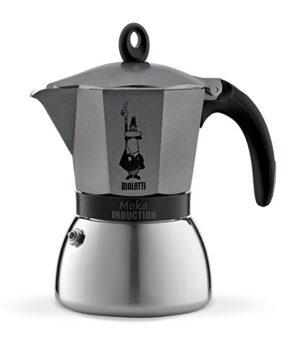 Espressokann Bialetti Moka 9 tassile induktsioonpliidile antratsiithall