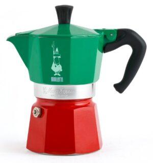 Espressokann Bialetti Moka Express Italia 6 tassile
