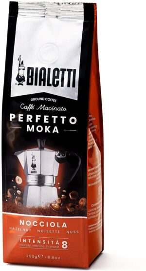 Jahvatatud kohv Bialetti PERFETTO MOKA HAZELNUT 250g