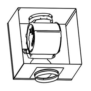 Remote blower kit Faber õhupuhastajatele