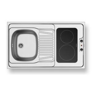 Valamu Pyramis 2 keraamilise pliidiplaadiga (MKZ100D