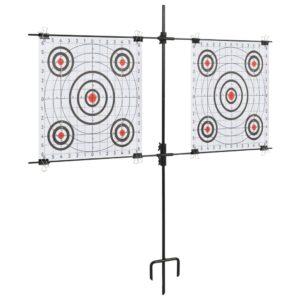 paberist sihtmärgi alus sihtmärkidega 78 x 76 cm