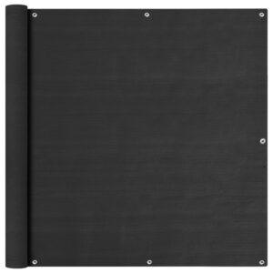 rõdusirm antratsiithall 120x600 cm HDPE