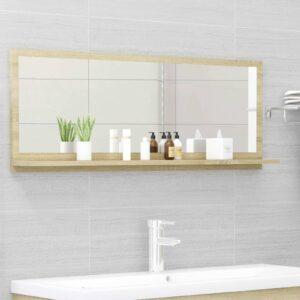 vannitoa peeglikapp Sonoma tamm 100x10