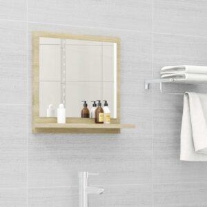 vannitoa peeglikapp Sonoma tamm 40x10