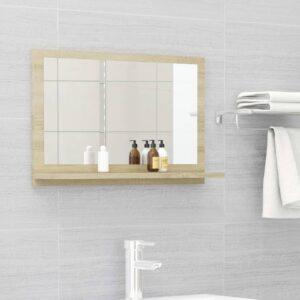 vannitoa peeglikapp Sonoma tamm 60x10