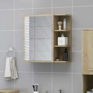 vannitoa peeglikapp Sonoma tamm 62