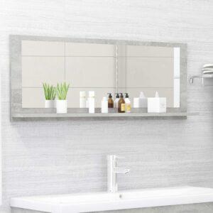 vannitoa peeglikapp betoonhall 100x10