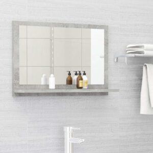 vannitoa peeglikapp betoonhall 60x10