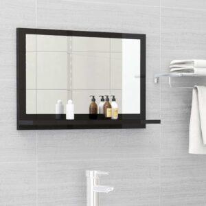 vannitoa peeglikapp must 60x10