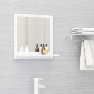 vannitoa peeglikapp valge 40x10