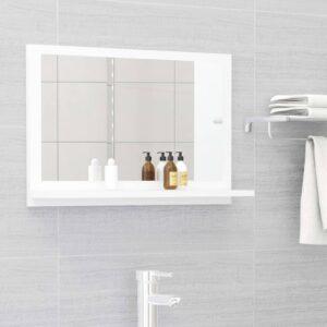 vannitoa peeglikapp valge 60x10