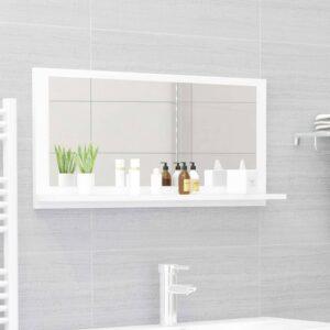 vannitoa peeglikapp valge 80x10