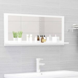 vannitoa peeglikapp valge 90x10