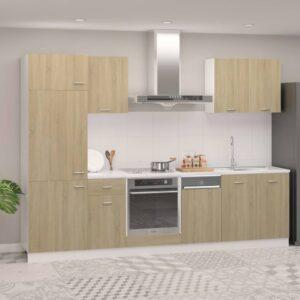 7-osaline köögikapi komplekt