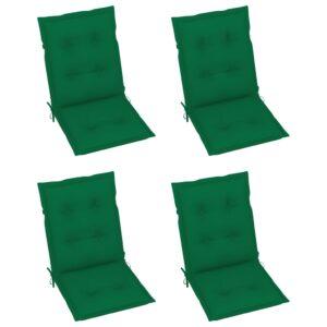 aiatooli istmepadjad 4 tk roheline 100 x 50 x 7 cm