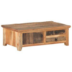 kohvilaud 90 x 50 x 31 cm taastatud puidust