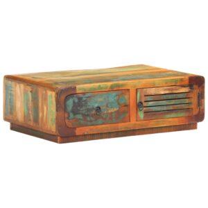 kohvilaud 90 x 60 x 29 cm taastatud puidust