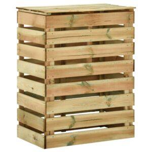 liistudega kompostikast 80 x 50 x 100 cm