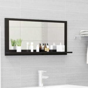 vannitoa peeglikapp must 80x10