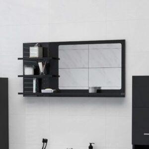 vannitoa peeglikapp must 90x10