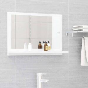 vannitoa peeglikapp valge 60 x 10