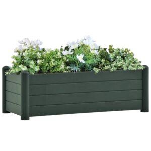 aia taimelava PP roheline 100 x 43 x 35 cm