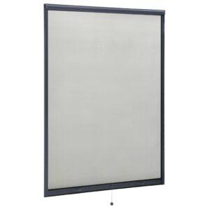 allarullitav putukavõrk aknale antratsiithall 120 x 170 cm