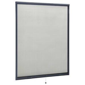 allarullitav putukavõrk aknale antratsiithall 140 x 170 cm