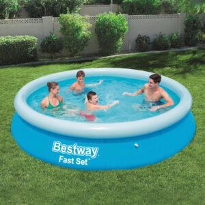 Bestway Fast Set täispuhutav täispumbatav bassein ümmargune 366x76 cm