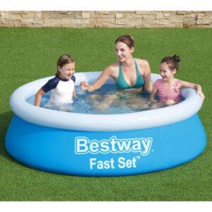Bestway Fast Set täispumbatav bassein ümmargune 183x51 cm