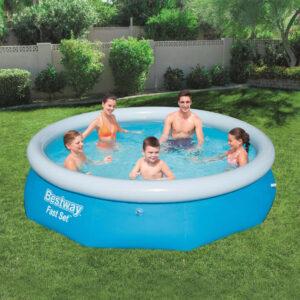 Bestway Fast Set täispumbatav bassein ümmargune 305 x 76 cm