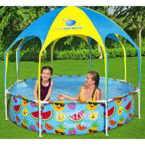 Bestway Steel Pro UV Careful maapealne bassein lastele 244 x 51 cm