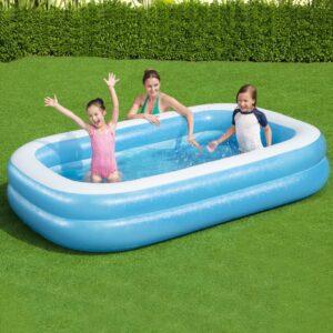 Bestway kandiline täispumbatav bassein 262x175x51cm sinine