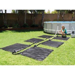 Intex päikesepatareiga küttematid 6 tk