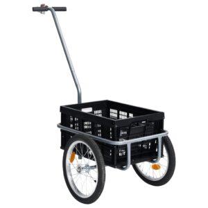 jalgratta pakihaagis 50 l kokkupandava veokastiga