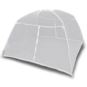 matkatelk 200x150x145 cm klaaskiud valge