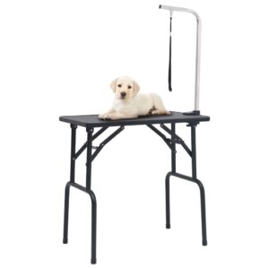 reguleeritav koera pügamise laud koos 1 aasaga