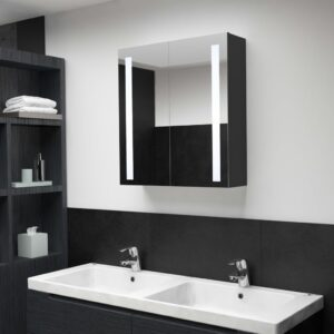 vannitoa LED-peegelkapp