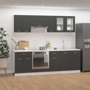 8-osaline köögikappide komplekt