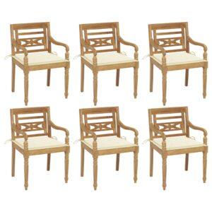 Batavia toolid patjadega