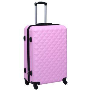 kõvakattega kohver roosa ABS