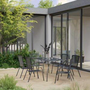 7-osaline aiamööbli komplekt