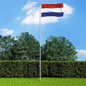 Hollandi lipp ja lipumast
