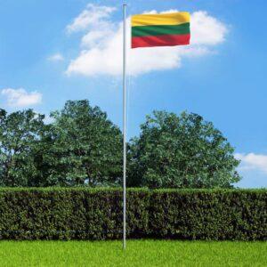 Leedu lipp ja lipumast