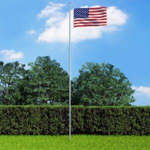 USA lipp ja lipumast
