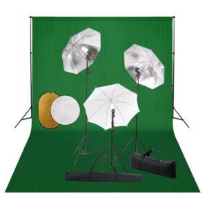 fotostuudiokomplekt lambid