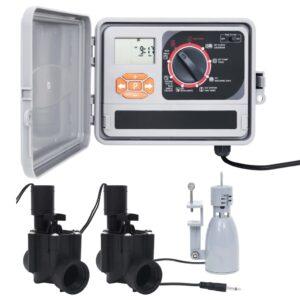 kastmise kontrollseade vihmaanduri ja solenoidventiiliga
